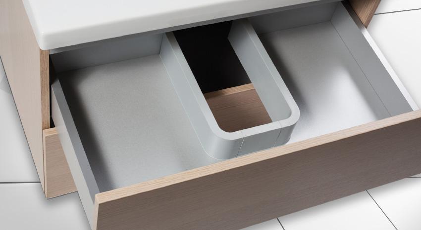 Syphon Plus Vanity Sink Plumbing Cutout
