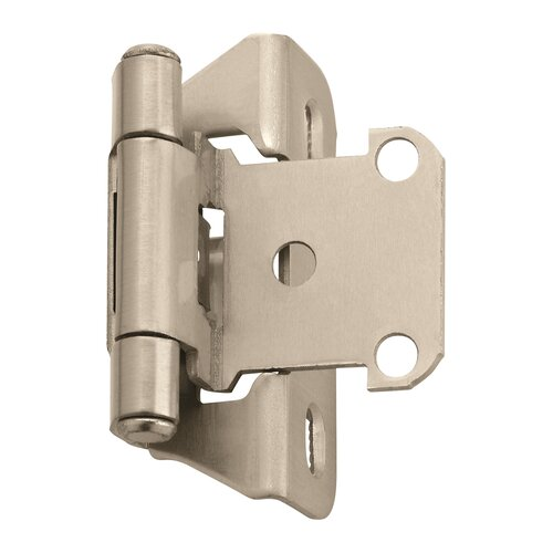 HINGE; SELF-CLOSING, PARTIAL WRAP, OVERL