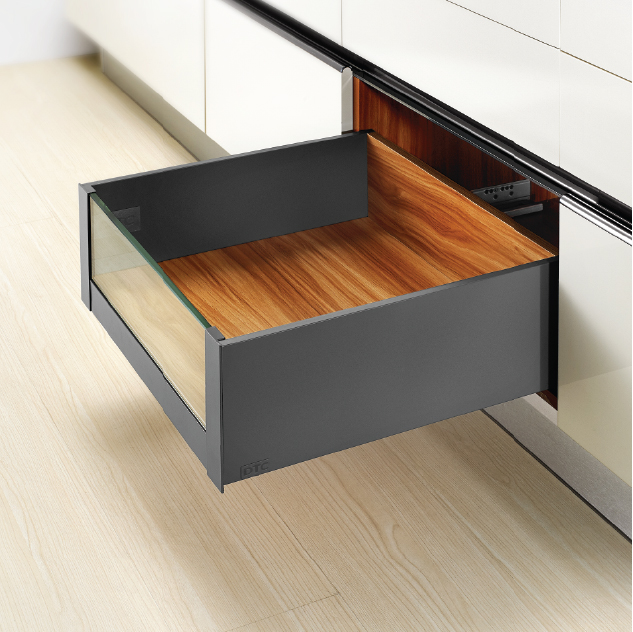 Legacy Prima Internal High Glass Front Drawer, 172mm Side Height