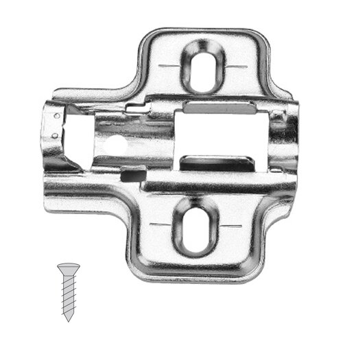 Clip-On Mounting Plate, Screw-On