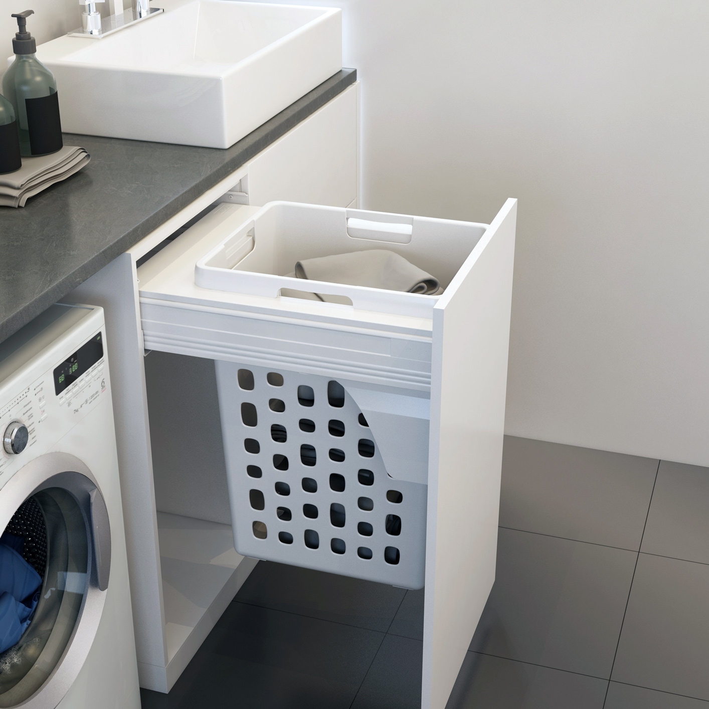 Infinity Laundry Hampers for Doublewall