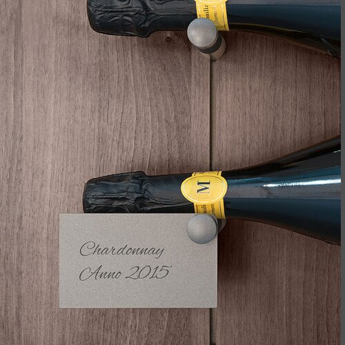 Salice Pin Wine Labels for use with Wine Bottle Holders