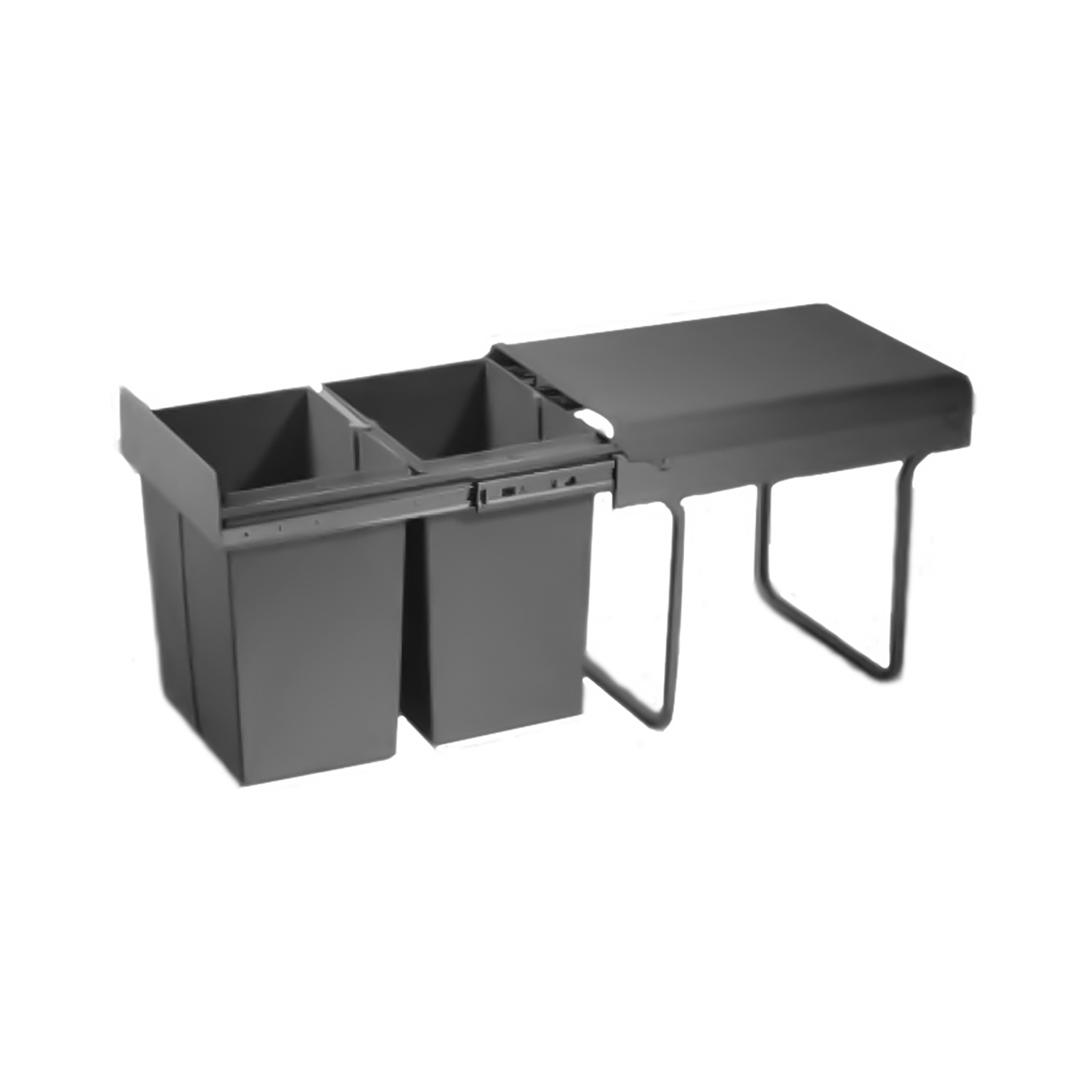 Waste Bin Pull Out  - 2 bin